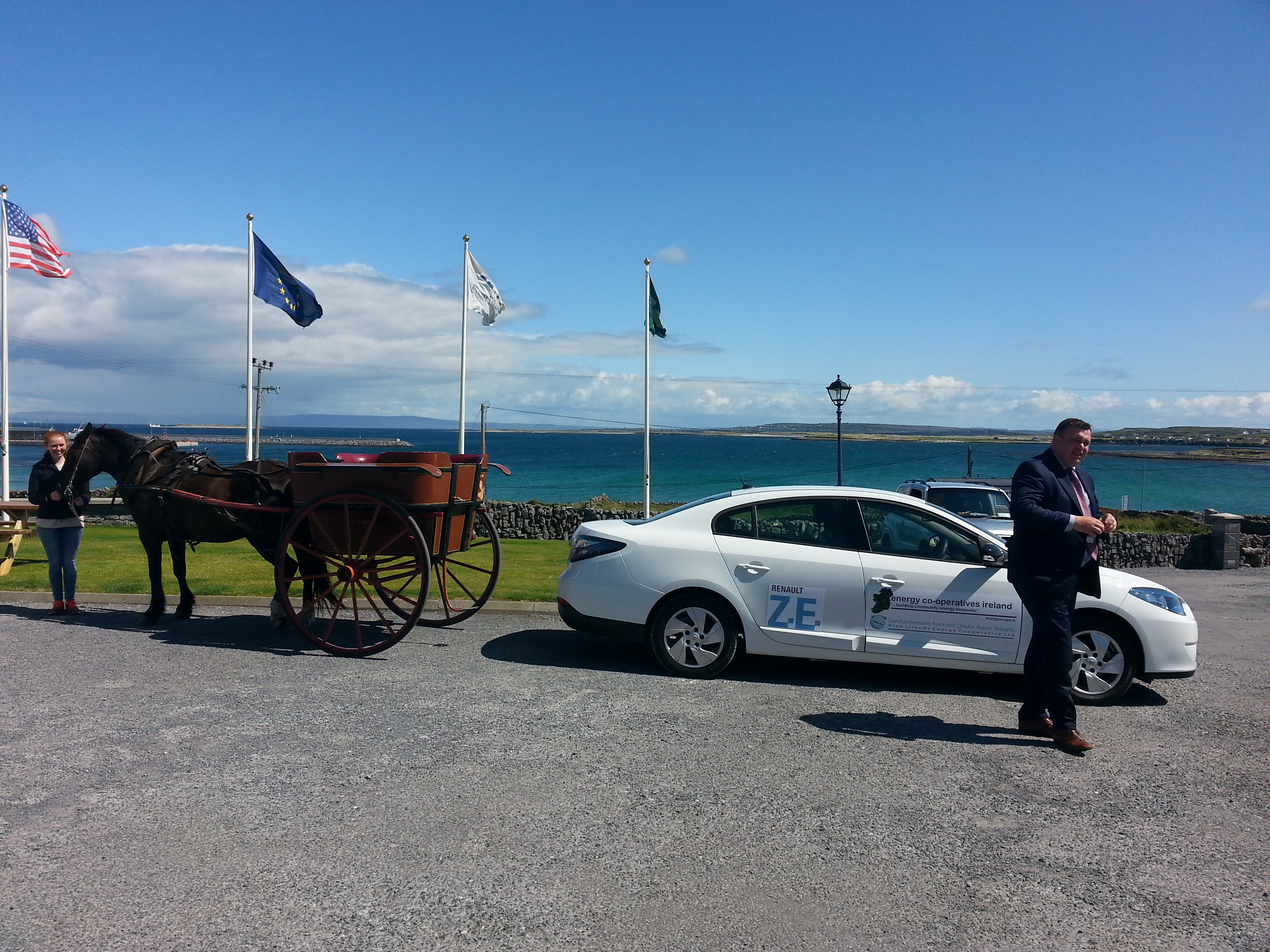EVs on Aran Islands